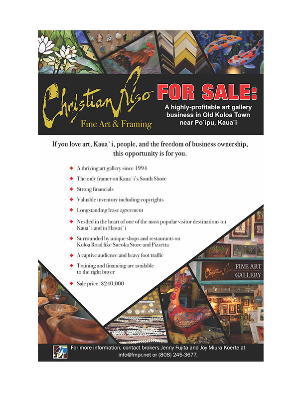 Christian Rise Fine Art Flyer
