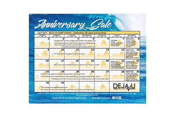 DejaVu Calendar