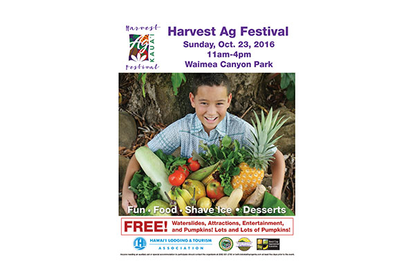 Harvest Ag Festival Flyer