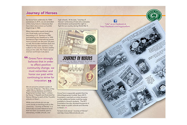 Journey of Heroes Booklet