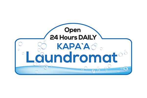 Kapaa Laundromat Sign