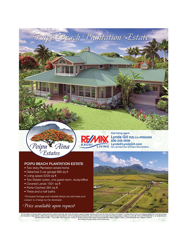 Poipu Aina Estates Flyer
