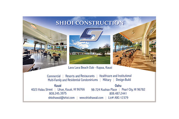 Shioi Construction Ad